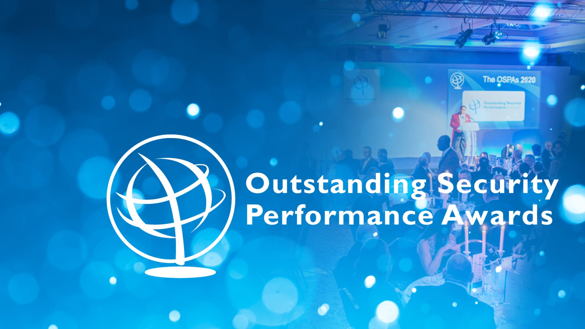 TrackTik presents award at the Outstanding Security Performance Awards (OSPAs)
