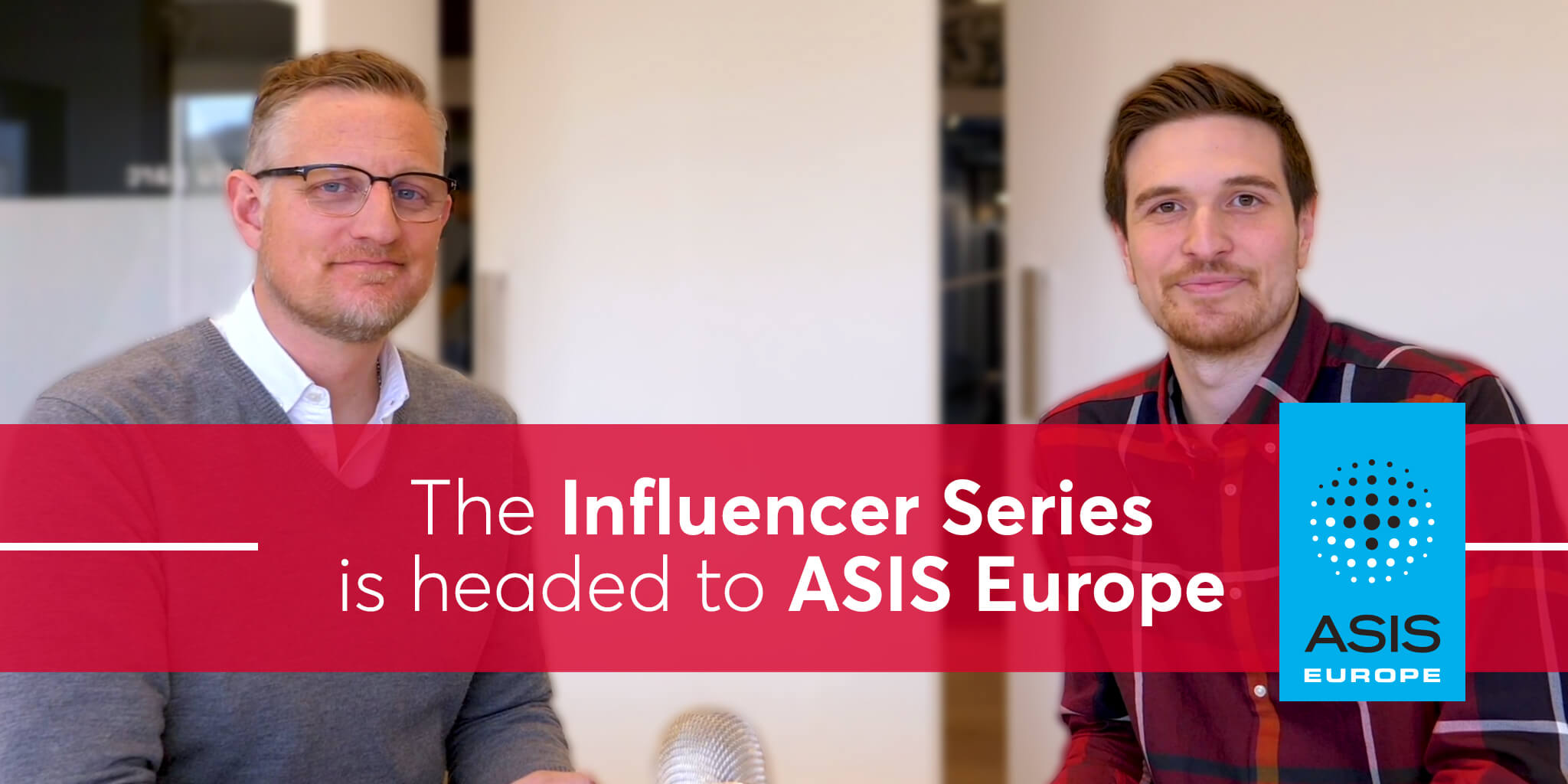 Tracktik influencer series visits asis europe