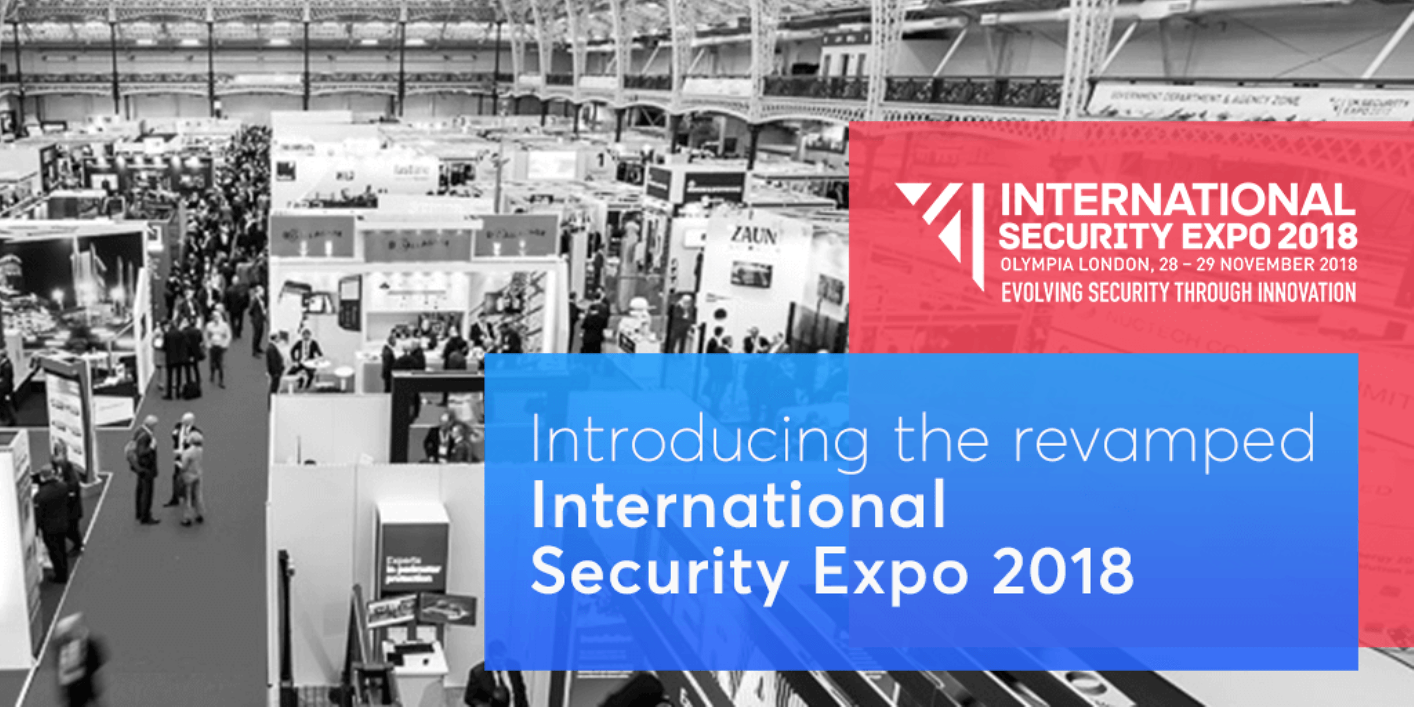 Introducing the Revamped International Security Expo 2018